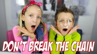 Don't Break the Chain Challenge!!!! / KarinaOMG / RonaldOMG