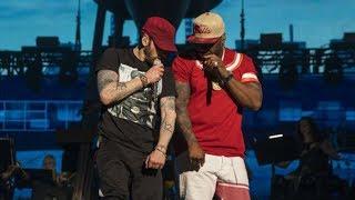Eminem ft. 50 Cent - Patiently Waiting, I Get Money, In Da Club, Crack a Bottle 🐐 (Multicam New)