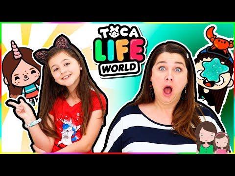 Ava & Jade spielen TOCA LIFE WORLD
