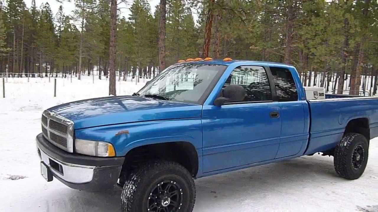 2000 Dodge Ram 2500 4x4 Cummins Turbo Diesel Youtube