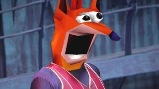We Are Number One but it's woahed by Crash Bandicoot