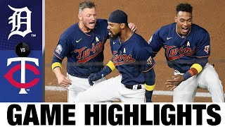 Byron Buxton's walk-off single leads Twins | Tigers-Twins Game Highlights 9/5/20