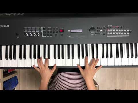 SM town 이지훈 신혜성 - 인형 doll (연주 Eun's piano Yamaha mx88)