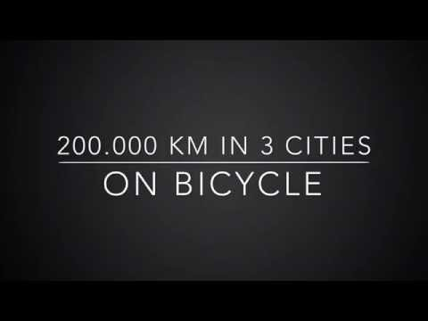 The urban pulse - one year of pedal power