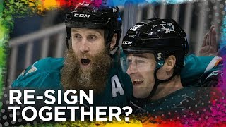 Could Thornton & Marleau re-sign SIMULTANEOUSLY with Sharks?