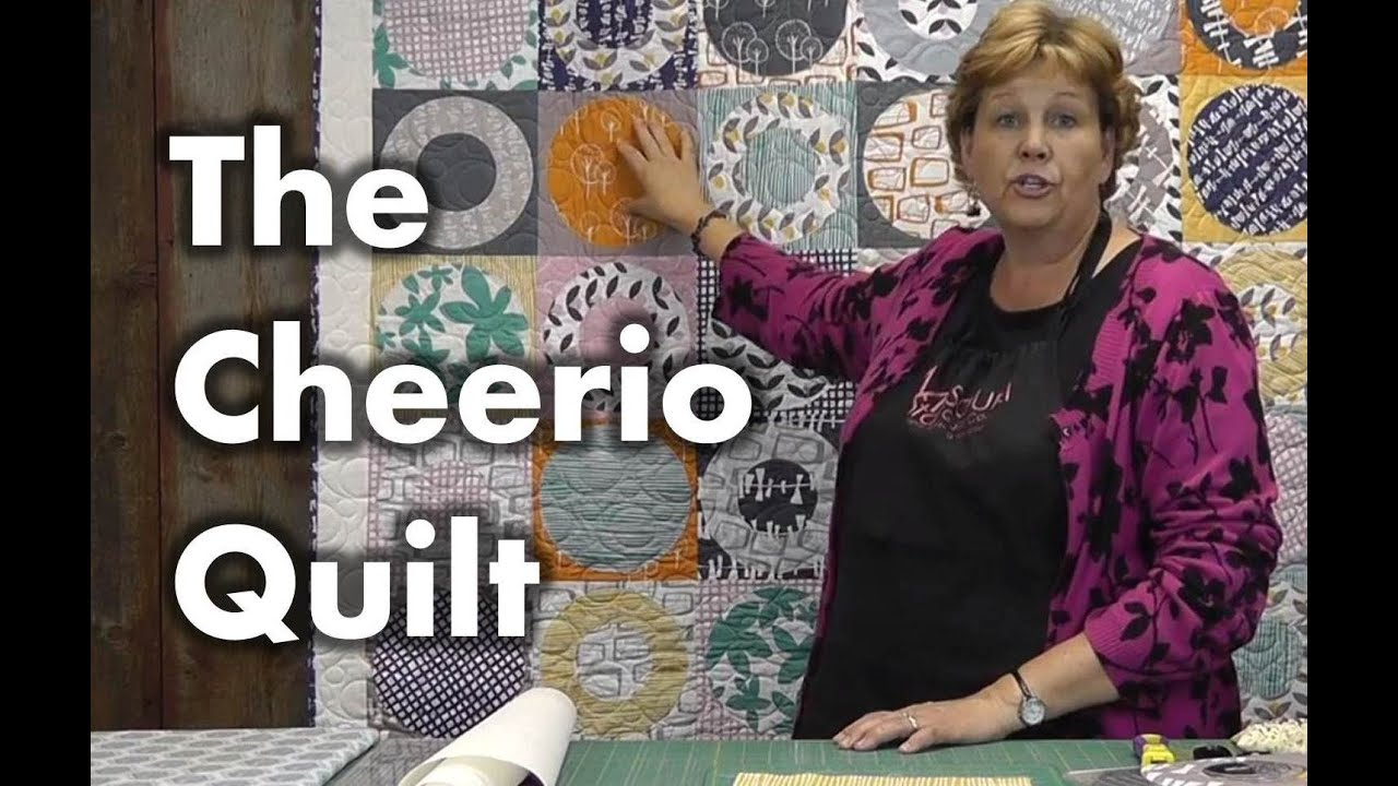 The Cheerio Quilt - Quilting With Circles - Smashpipe Education