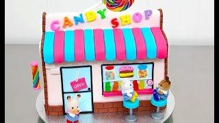 CANDY SHOP Cake with Toys | Pastel Tienda de DULCES con Juguetes