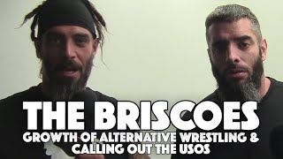 The Briscoe Brothers Call Out The Usos (Video)