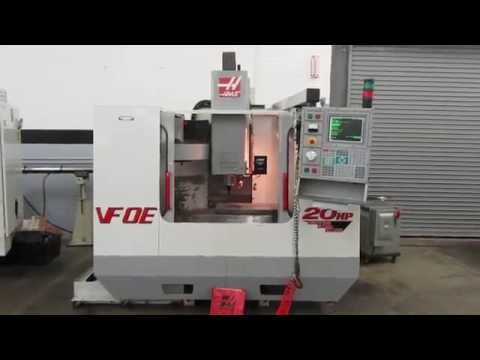 Haas VF-0E (VF-2) CNC Vertical Machining Center with Thru-Spindle Coolant