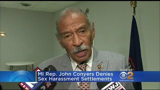 Rep. John Conyers Denies Sexual Harassment Settlements
