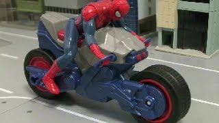 spiderman Bike Toys 스파이더맨 오토바이 장난감