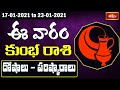Aquarius Weekly Horoscope By Dr Sankaramanchi Ramakrishna Sastry | 17 Jan 2021 - 23 Jan 2021