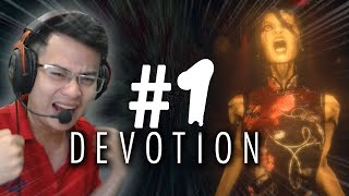 Win.D thay quần liên tục khi khám phá game kinh dị  || DEVOTION PART 1 || SẶC SỤA CÙNG WIN.D