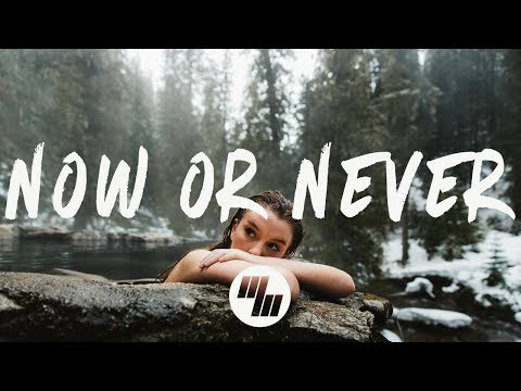 Halsey - Now Or Never (Lyrics / Lyric Video) R3hab Remix