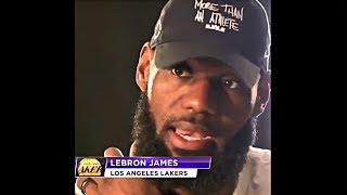 LeBron James On Lakers Chance Of Winning Championship This Season & Playing With His New Teammates