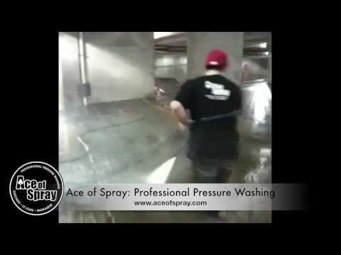 Parking Garage Cleaning & Power Washing | Chicago • Milwaukee • St. Louis