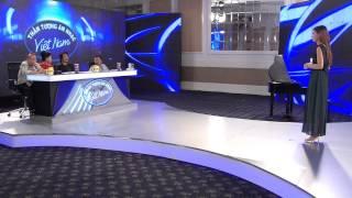 Vietnam Idol 2015 - Tập  3 - Vầng trăng đêm trôi & Đường cong - Hồng Nhung