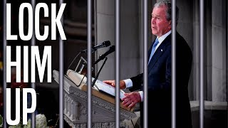 George W. Bush's Image Fully Rehabilitated After Trump Diss at McCain's Funeral