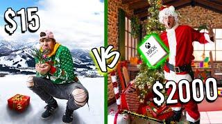 $15 VS $2,000 CHRISTMAS! *Budget Challenge*