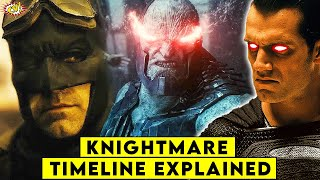 Justice League KNIGHTMARE Timeline Explained || ComicVerse