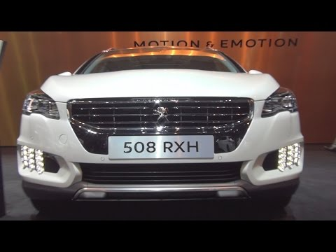 @Peugeot 508 RXH Blue HDi 180 S&S EAT6 (2017) Exterior and Interior in 3D