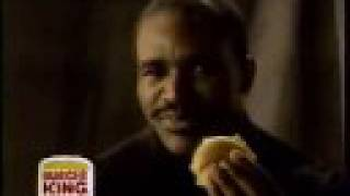 Burger King Commercial with Evander Holyfield