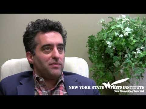 Nathan Englander at the NYS Writers Institute in 2013 - YouTube