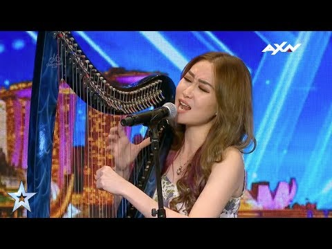 Angela July Judges' Audition Epi 5 Highlights | Asia's Got Talent 2017