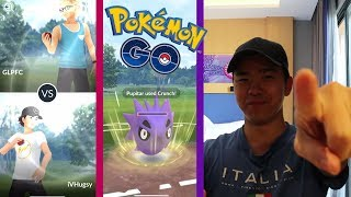 MY FIRST PVP WITH MY SUBSCRIBERS ! POKEMON GO PVP IS FINALLY HERE!!