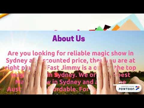 Find Magician Wedding in Sydney