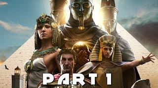 ASSASSIN'S CREED ORIGINS NEW GAMEPLAY WALKTHROUGH PART 1 - Meketre (AC Origins)