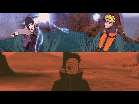naruto and sasuke vs madara uchiha tobi naruto shippuden