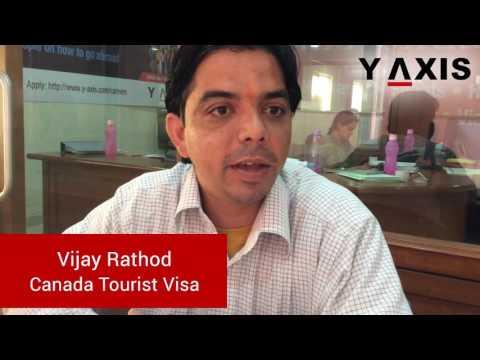 Vijay Rathod Canada Tourist Visa PC Vanishree Joga