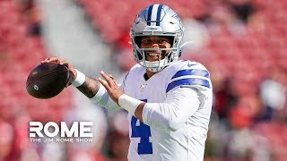 Dak Prescott Is Betting on Himself | The Jim Rome Show