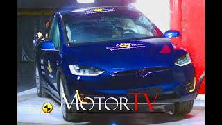 SAFETY : Watch how Tesla Model X earned its 5-star safety rating from Euro NCAP