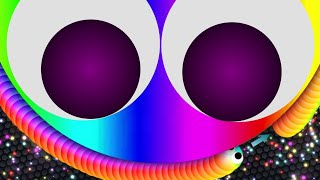 Slither.io - RAINBOW SKIN GamePlay - SPECIAL SKIN Release - World Record (CODE UPDATE)
