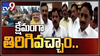 TDP's Surendra Babu shares horrible moments after a narrow..