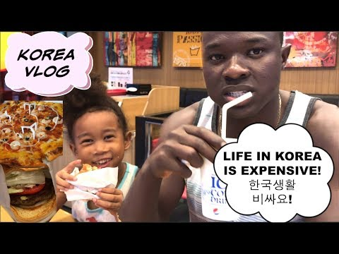 [KOREA VLOG] TOO EXPENSIVE TO STAY?! | KOREAN PIZZA & HAMBURGER, Good or Bad? Family Vlog ep. 130