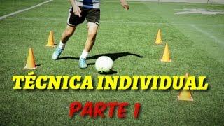 Ejercicios para mejorar la técnica individual y de regate en el Futbol-ANDRETI LEAL