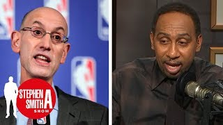 Adam Silver on NBA's potential return to Seattle | Stephen A. Smith Show