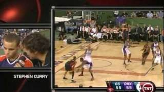 Stephen Curry: NBA preseason action 2009