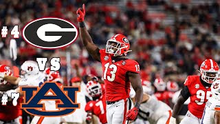 #4 Georgia Highlights Vs. #7 Auburn 2020 | CFB Week 5 | College Football Highlights 2020
