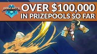 $100,000+ in Prize Pools Announced So Far - Brawlhalla Dev Stream Montage