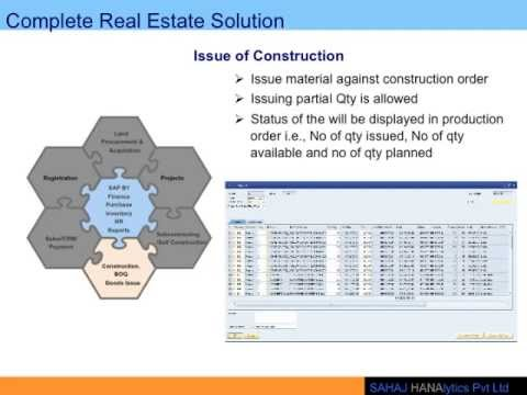 SAHAJ Hanalytics   Real Estate Solution Brief