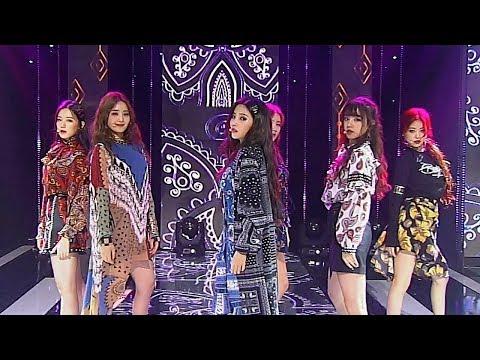 《DREAMLIKE》 (G)I-DLE((여자)아이들) - HANN(한(一)) @인기가요 Inkigayo 20180909