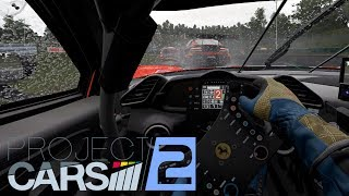 Project CARS 2:  Driver Eye - 488 GT3 @ Brno - The Red Pill - VR Gameplay