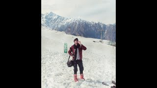 Trip to Auli I joshimath l Skiing l trekking  I Camping l Camp fire  and all the adventure