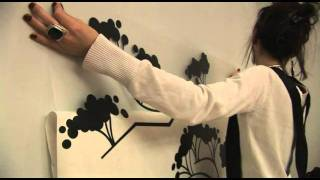 Easy way to install Wall Decals - How to