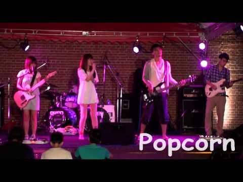 Popcorn band爆米花樂團─降落@20120824巨獸搖滾音樂祭2 0BeastieRock