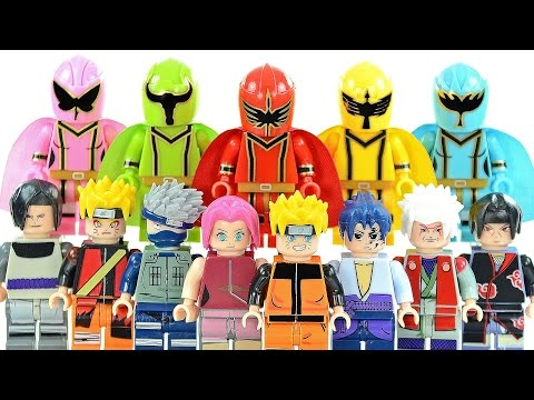 Power Rangers Mystic Force & Naruto Shippūden Unofficial LEGO ...